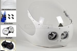 Držák světlometů - Dvojče 2x90 TWIN
