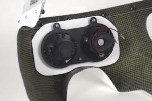 SET - UNI Polokapotáž styl Bol d'Or - Projektory 2x90mm verze 2