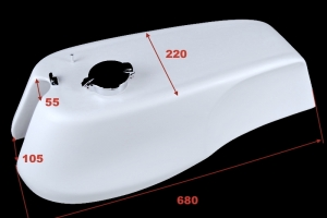 Nádrž (350)500-750cc