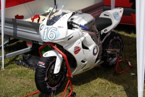 Side parts on bike - SUPERTWIN