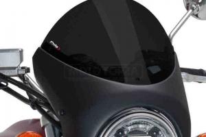 UNI Upper Fairing RETRO SEMI HALF FAIRING - SET - Suzuki GSX 750  - dark smoke screen