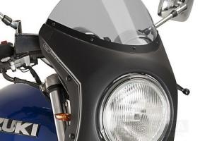UNI Upper Fairing RETRO SEMI HALF FAIRING - SET - Suzuki GSX 750  - light smoke screen