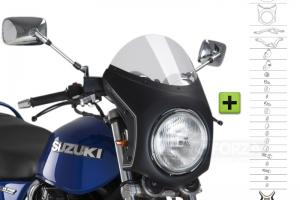 UNI Upper Fairing RETRO SEMI HALF FAIRING - SET - Suzuki GSX 750