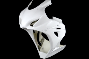 Preview fairing version 2 with oil sump for Yoshimura, M4, Arrow exhaust,