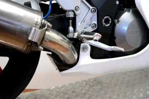 Parts on the bike - side parts - side