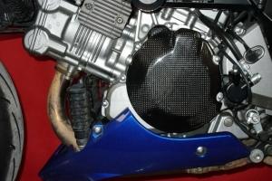Suzuki SV 1000, 03-09-  Kryt zapalování (alternátoru), CARBON-KEVLAR