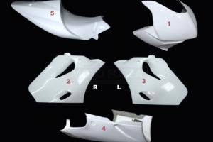 Complete set 5-pieces Racing