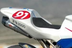 Motoforza UNIVERSAL Foam seat pad EVO 3 -  500x400x12 RACING
