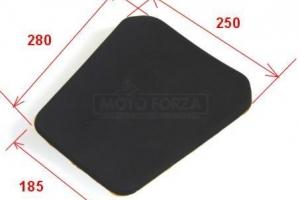 UNI Foam seat pad EVO 3 - TYPE 1 -dimensions