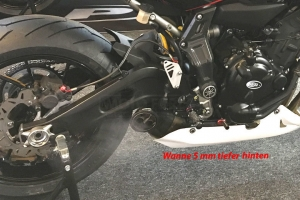 Bellypan RACING with Akrapovic exhaust