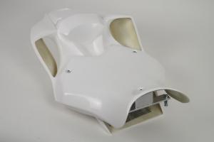 Yamaha YZF R6 2017- Race Seat closed SSP Design, GRP - SET, incl. seat undertray, 2x ALU brackets
