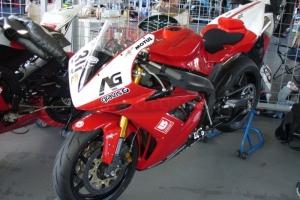 Díly na motocyklu Yamaha YZF R1 04-06