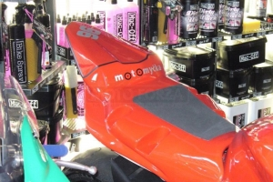 Seat closed on bikepreview - fairing GRP Yamaha YZF R6 2006 2007