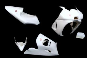 Complete set 3-pieces Racing