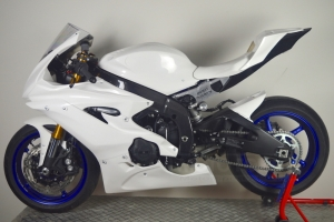 Yamaha YZF R6 2017-  preview of parts Motoforza on bike