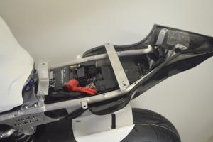 Spodní kryt sedla podběh Racing
