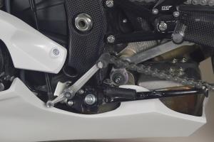 Přední kapotáž racing vč.instalace D ring šroubů - pro Original Výfuk