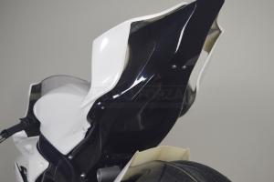 Kompletní sada 6-dílná Racing verze 4 - pro original výfuk - černý podběh