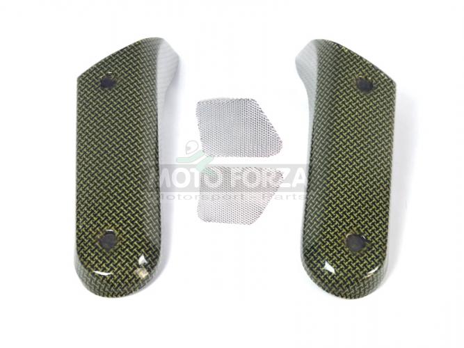 Yamaha MT 01 2003-2012 - Air-intake covers - air scoops Kevlar-Carbon