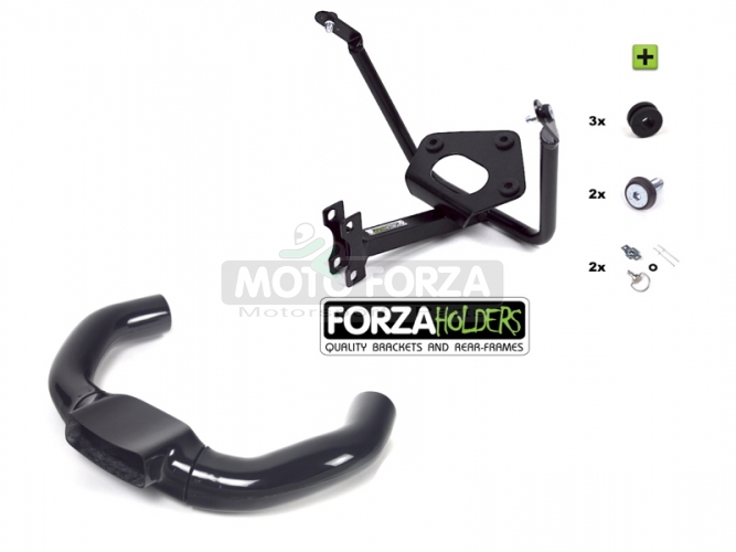 Front Bracket with airducts - SET Yamaha YZF R6 2003-2005 forza holders