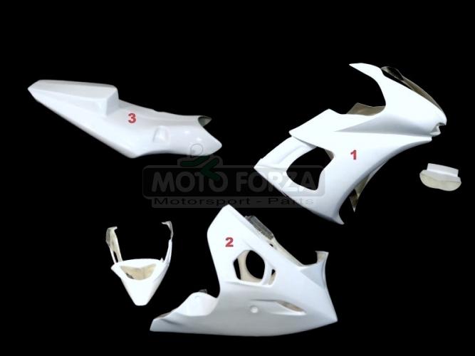 Yamaha YZF R-6 2003-2005 Complete set 3-pieces Racing